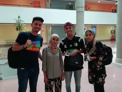 Estudiantes argelinos Unimar 2019