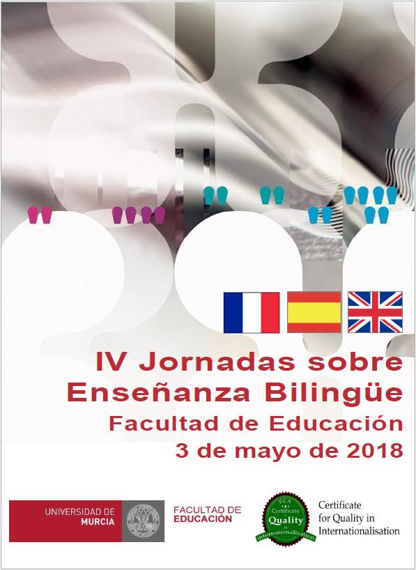 Cartel de las Jornadas sobre Enseñanza Bilingüe