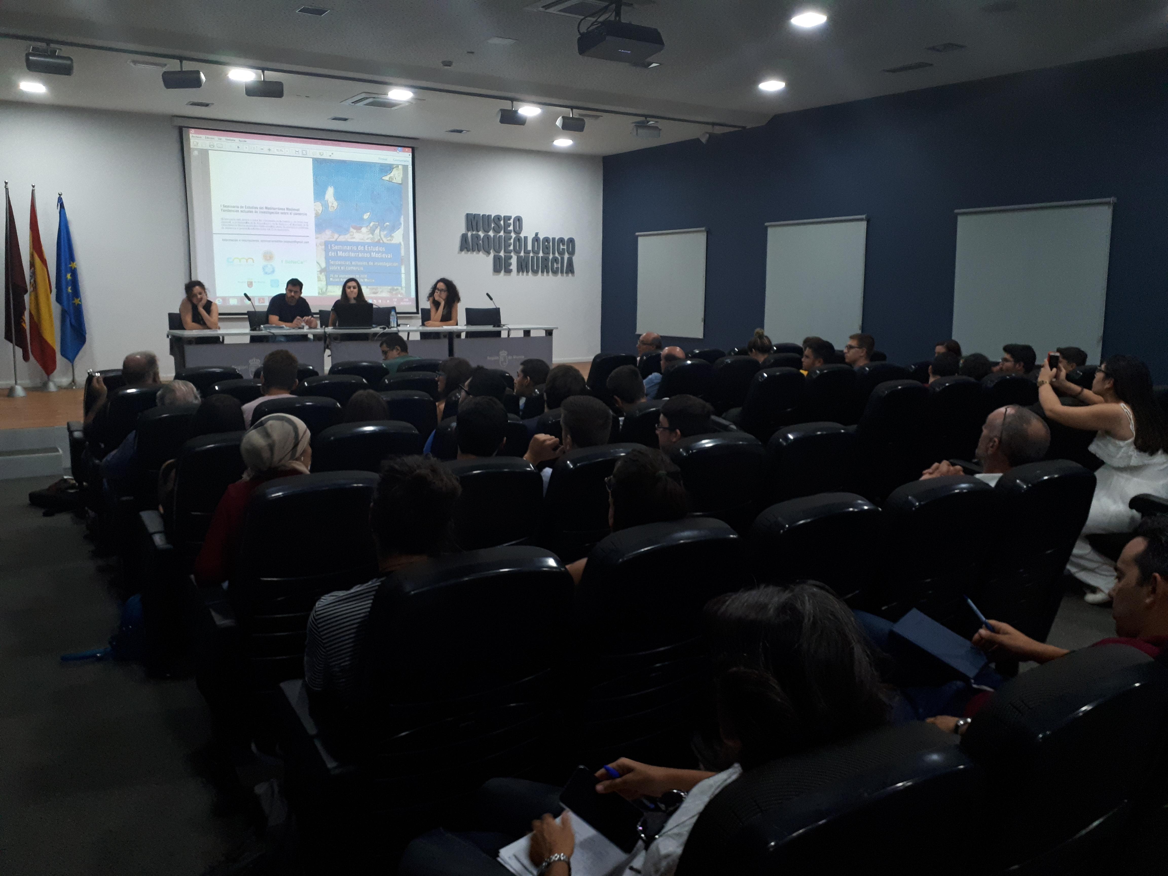 Celebrado en la Universidad de Murcia el I Seminario de Estudios del Mediterráneo Medieval - 2