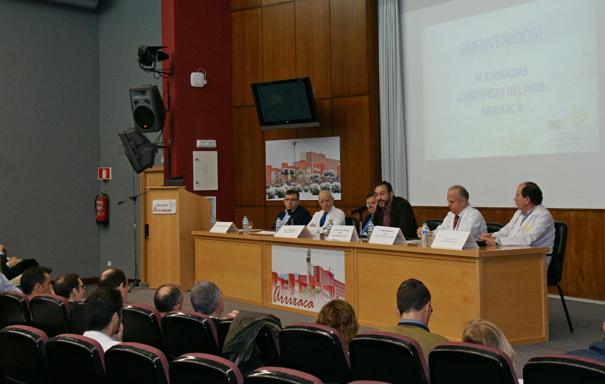 Celebradas las III Jornadas Científicas del IMIB-Arrixaca