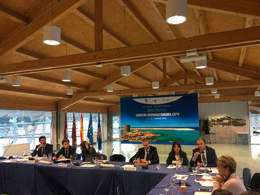 CMN presented its project in the Political Bureau meeting of the CPMR Intermediterranean Commission located in Cartagena