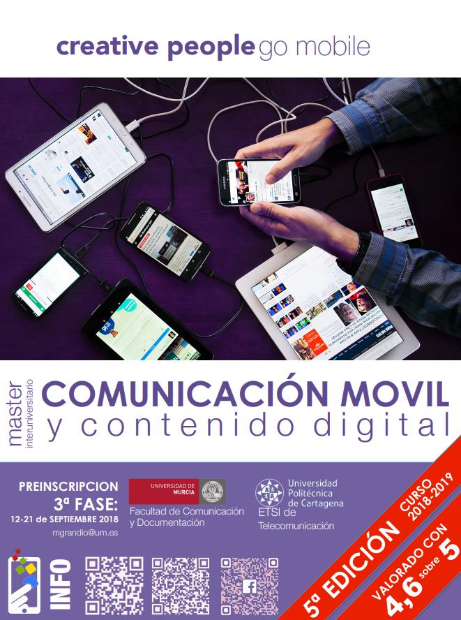 Cartel Comunicación Móvil